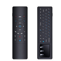 Cheap 2.4 wireless keyboard T6 with Built in lithium battery for android box