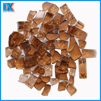 Fire Pit Decorative Glass Blocks Clear Tempered Glass Chips