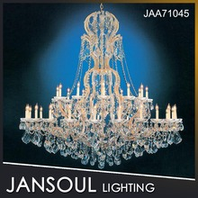 modern luxury crystal chandelier pendant light for hotel restaurant decoration