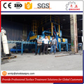 Pass Through Shot Blasting Machine for scaffolding cleaning