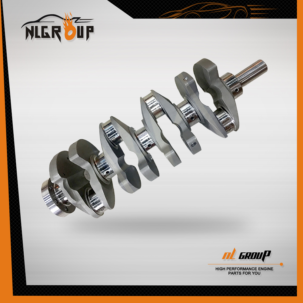 Forged 4340 Alloy Steel Crankshaft for Isuzu 4JA1 Crankshafts