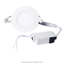 3w led round panel light manufactures shenzhen