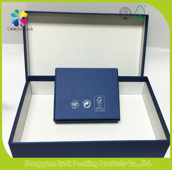 High Quality Custom Famous Brand Holiday Promotion Used Paper Gift Boxes For Wallet and Card Case Packaging