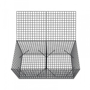 Stabilize and Easy install welded-wire gabion baskets/gabion boxes