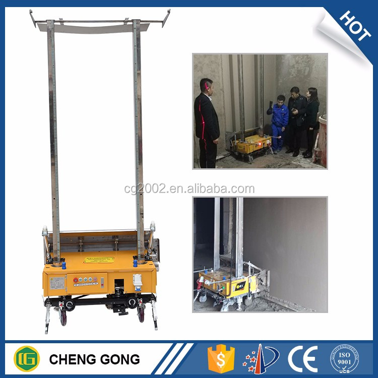 CE ISO Wall Plaster ROBOT Construction Building Render Machine Mortar Concrete Cement Machine