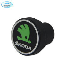 Wholesale Best Selling Cigarette Lighter Car Accessories Logo Caps For SKODA