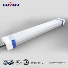 China supplier IP66 40W AC100-277V led tri proof tunnel light