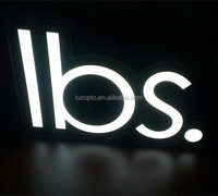 Acrylic LED sign, black white acrylic LED signs, led color series of light box