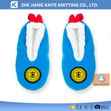 KTP-2660 slipper socks with leather sole