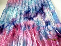 POLYESTER RUFFLE SPANDEX FABRIC