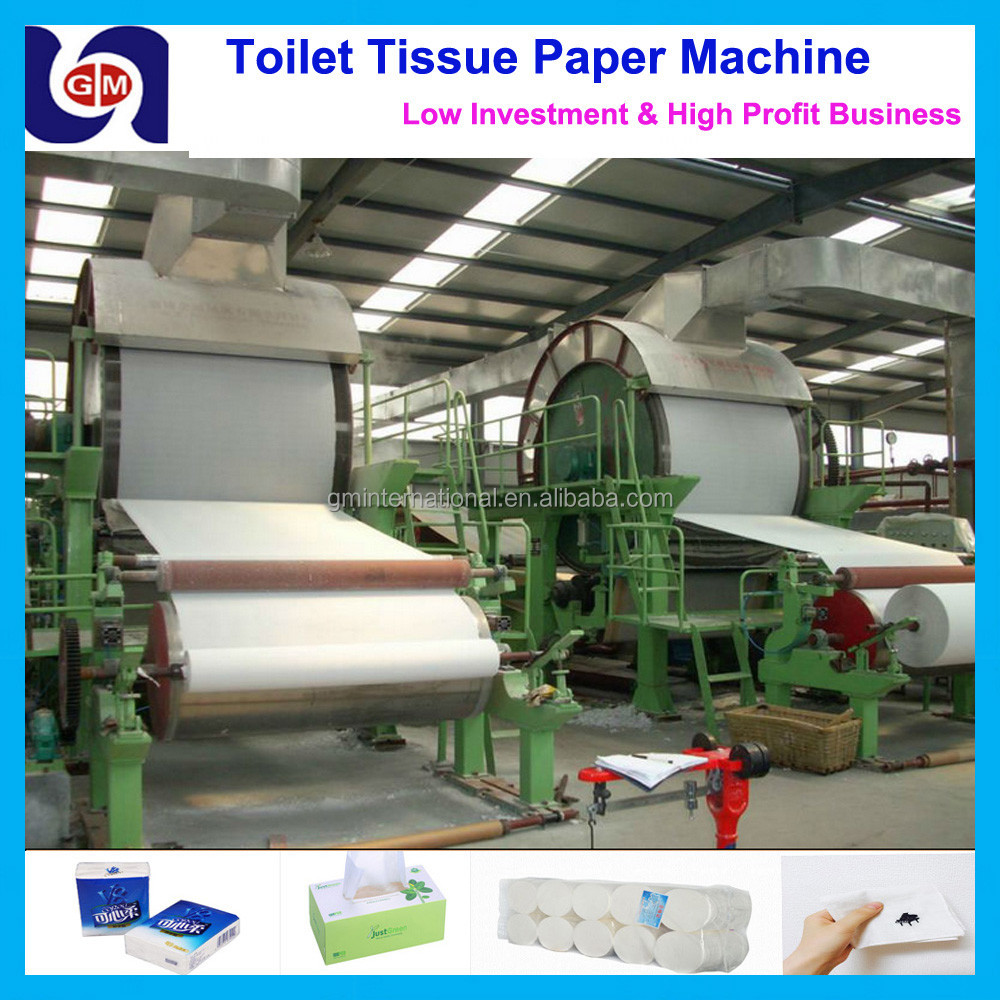 well selling and high quality 787mm 1tpd small toilet tissue paper making machine