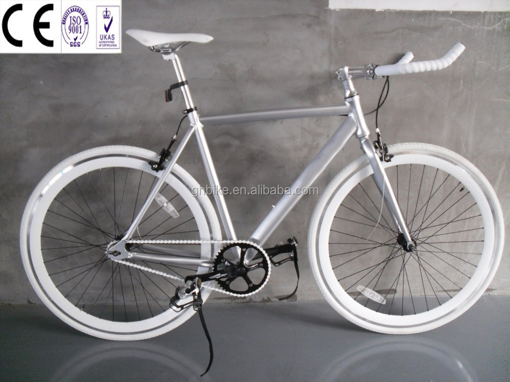 lightweight aluminum fixie bicycle fixed gear bike