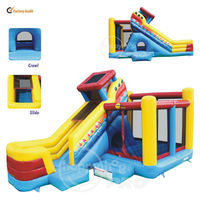 Jumping Castles Inflatable Commercial-1020 Bouncer Slide Combo Inflatable