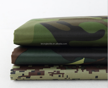 wholesale 600d polyester camouflage oxford fabric with pvc coating