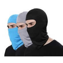 Motorcycle Custom Fashion Ski Black Fabric Face Shield Winter Cotton Face Mask