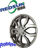 high precision cnc tyre prototype,aluminium prototype part