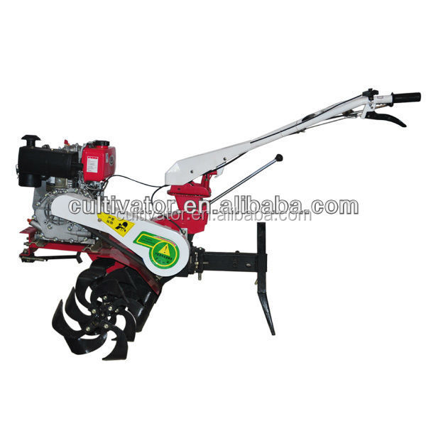motor matched mini farm tilling machine for orchard