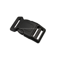 Fashion High Quality Plastic Curved Side Release Buckle
