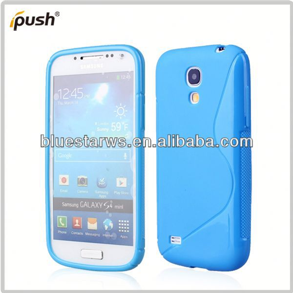 2014 high quality case for sumsung s4 for samsung galaxy s4 mini tpu case
