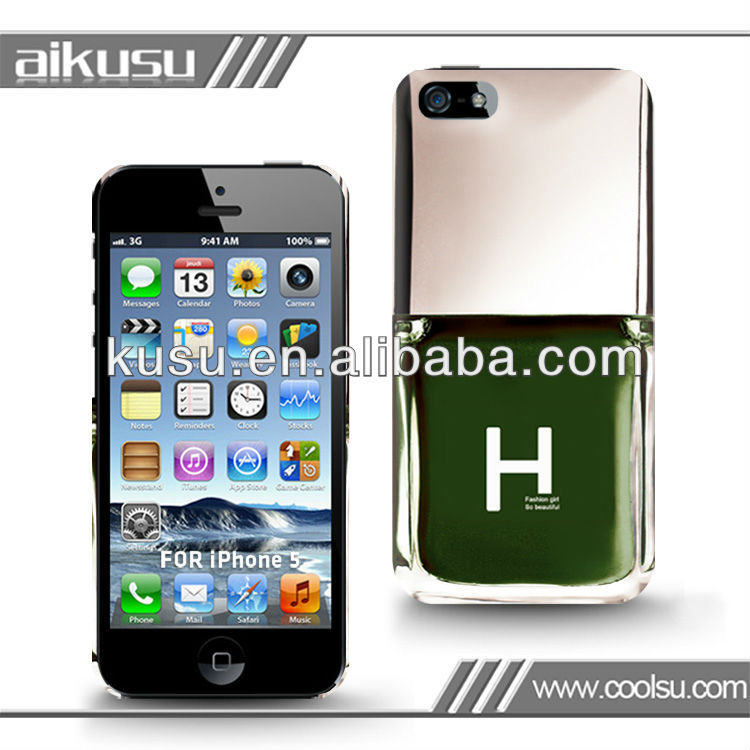 Top quality imd hard phone case for iPhone5
