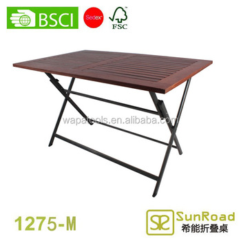 1.2m folding dining table designs garden table