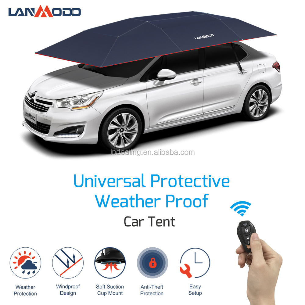 Hail Protection Car Cover >> Patent Holder Lanmodo Hail Protection Car Covers Smart Automatic Car