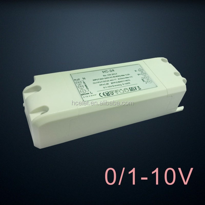 constant current dimmable saa led driver TRIAC/0-10V/DALI dimming for choice