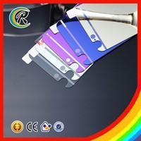 2015 Hot new products color glass screen protector for iphone 5/5S/5C
