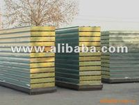 over lap rockwool sandwich panel for roof