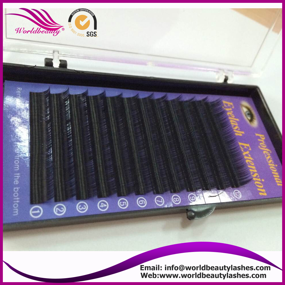 3D/6D 0.07, 0.05 Valume eyelash extension with customized logo package, and OEM service