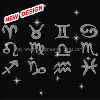 Art lettering bling iron clothing alphabet transfers FY 48 (15)