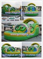 Giant inflatable bouncy slide inflatable slide inflatable water slide