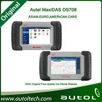 2015 Original maxidas ds708 professional diagnostic tools maxidas ds708 multi language Update Online motorcycle diagnostic tools