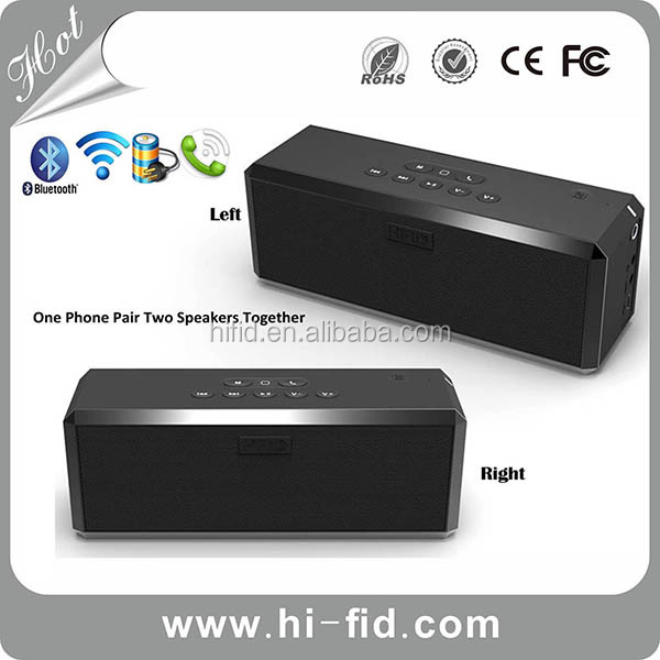 Hi-FiD Stereo Sound Bluetooth Speaker Systems 4.0 with Infrared Thermal Sensor