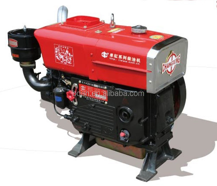 sifang small turbo 4-stroke single cylinder fuel injection system diesel engine