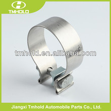 Accuseal large stainless steel high performance band hose clamps