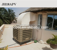 Electric Commerical Swamp Water Air Cooler with fresh air