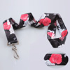 Polyester pretty lanyard with swivel clip