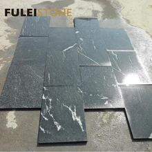 Polished best quality cheap chinese black jet mist granite price