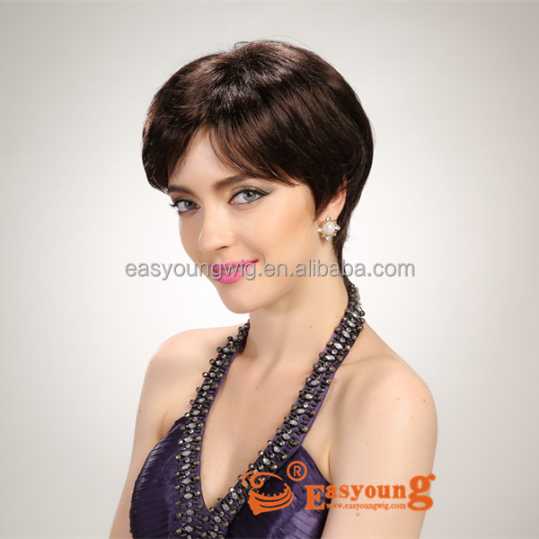 Japanese fiber very short hair wigs, synthetic hair wig