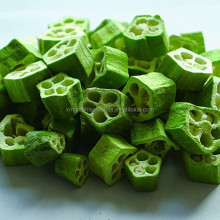Health Nutrition Green fresh Freeze Dried Okra vegetable for food