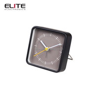 the 2015 rohs customize painting electronic alarm metal desk travel clock with stand