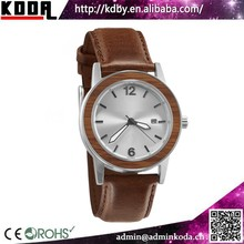 koda horologe shenzhen watch japan movt quartz bezel wooden steel watches 2017