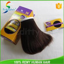 Dolche International fashion 100 percent indian remy human hair for trade show