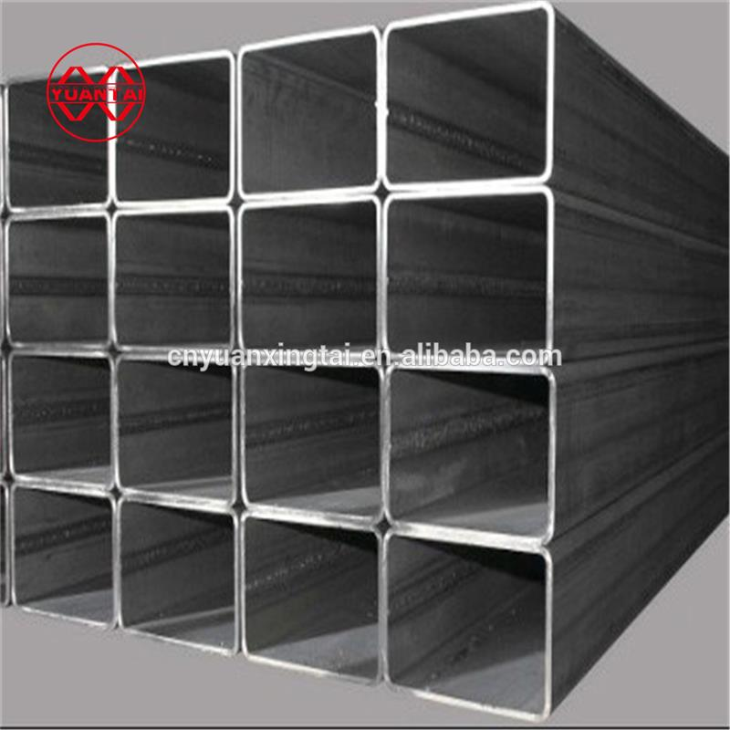 construction price list thick wall galvanized steel tube raw materials