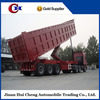 High performance 3 axles 60ton dump semi trailer sand transportation