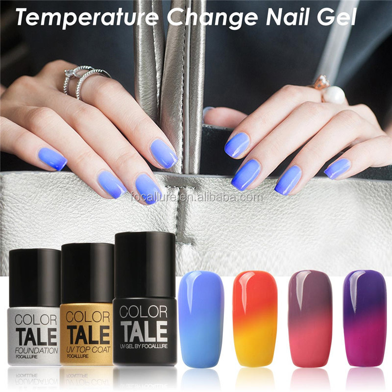 Focallure color tale changing color uv gel,private lable uv nail polish gel