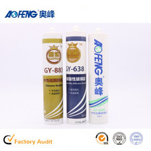 Factory Direct Supply OEM Non-toxic Glass Silicone Sealant Neutral Fireproof Glass Glue for Construction