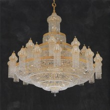 Big Arabic Luxury Crystal Mosque Chandelier for Hotel Lobby High Ceiling 62022