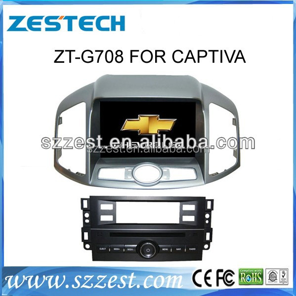 ZESTECH for chevrolet captiva auto radio with gps naviation